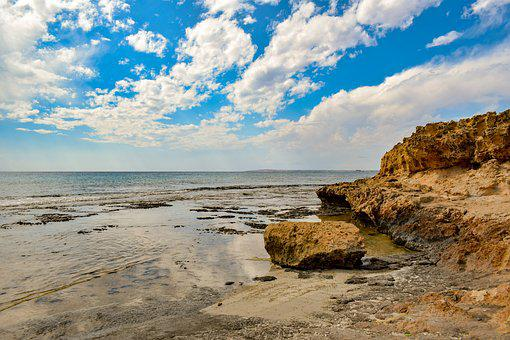 Rocky Coast, Beach, Rock, Sea, Landscape, Nature, Sky