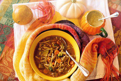 Soup, Cozy, Fall, Autumn, Relax, Cosy, Lunch, Dinner