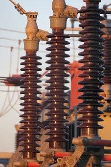 Transformer, Transmission, Substation, High Voltage