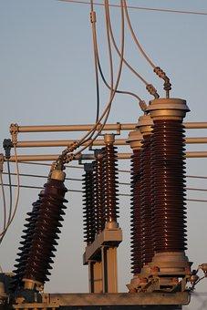 Transformer, Substation, Transmission, High Voltage