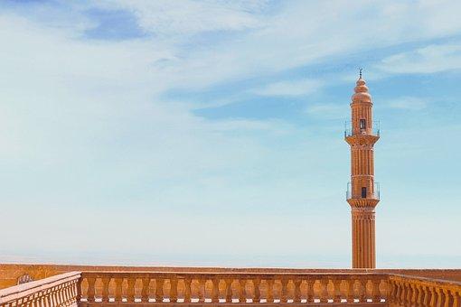 Mardin, Travel, Cami, Sky, The Grand Mosque, Offer
