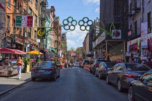 Little Italy, New York, City, Urban, Food, Restaurants