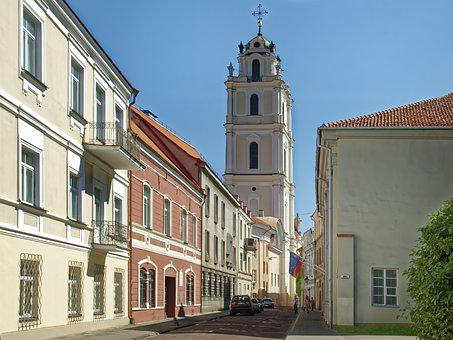 Lithuania, Vilnius, Historic Center