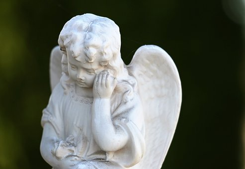 Little Angel, Sad, Cute, Decoration, Spiritual, Wings