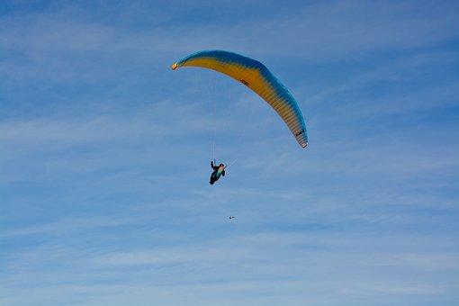 Paragliding, Paraglider, Aircraft, Free Flight, Fly