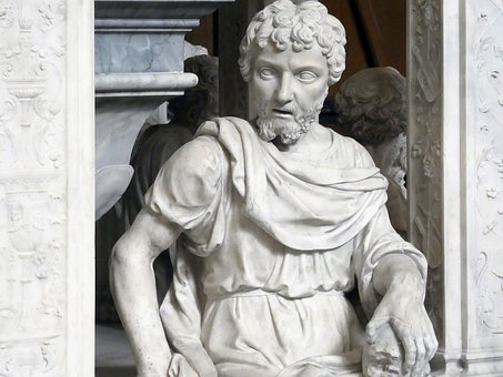 St Denis, Basilica, Tomb, Statue, Marble, Evangelist