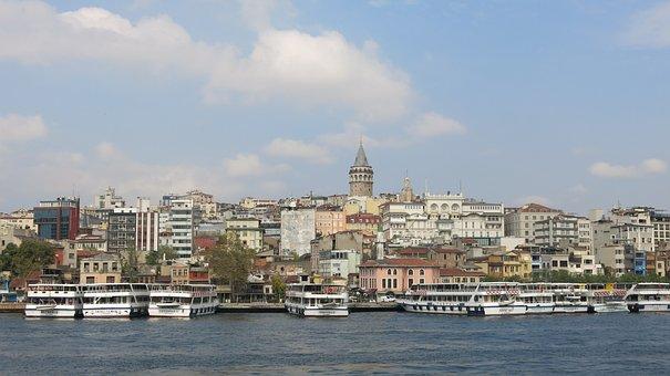 Galata Tower, Galatasaray, Turkey, Bosphorus