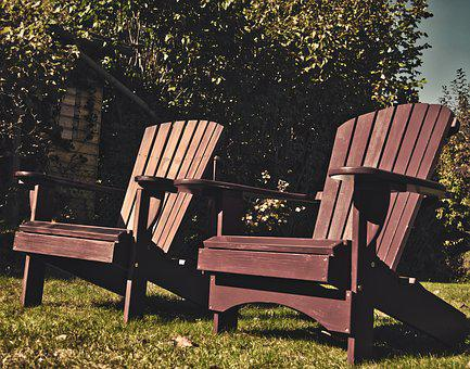 Adirondack, Relax, Chair, Rest, Break, Seat, Time Out