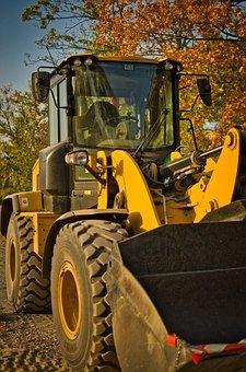Excavators, Machine, Construction, Build, Site, Work