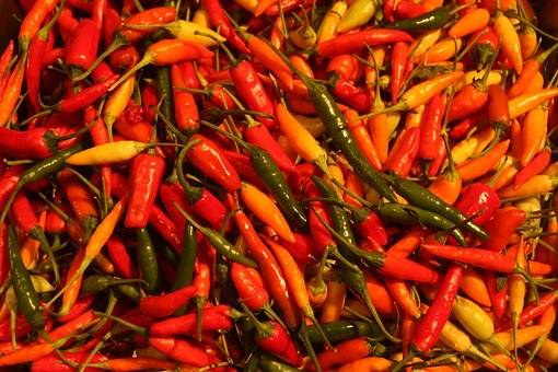 Chili, Spicy, Ingredient