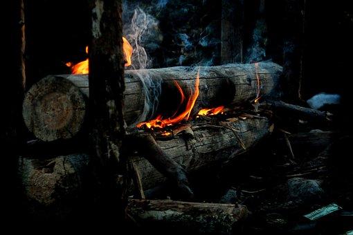 Overnight Campfire, Campfire, Fire, Gap White, Rakotuli