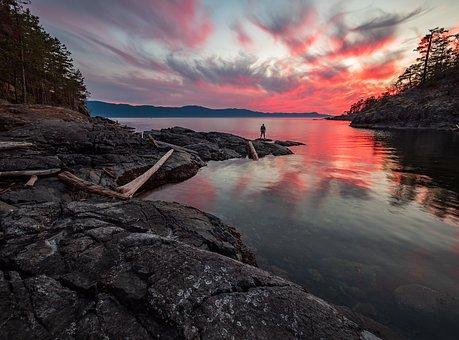 Canada, Francis Point Provincial Park, Sunshine Coast