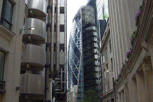 Gherkin, London, Architecture, Lloyds Of London