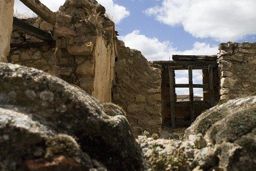 Ruins, Rubble, House