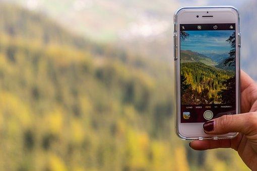 Photo, Video, Landscape, Dolomites, Nature, Smartphone
