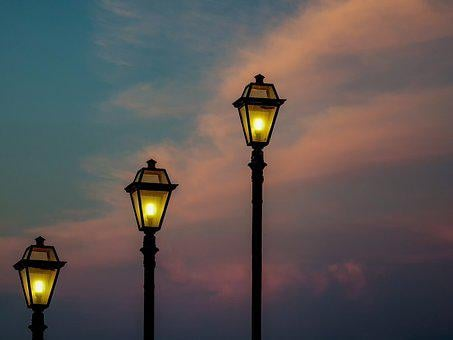 Lights, Street, Architecture, Cloud, Lantern, Lamps