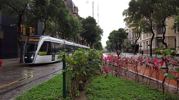 Rio De Janeiro Vacation, Metro, Train, Tourism, Brazil