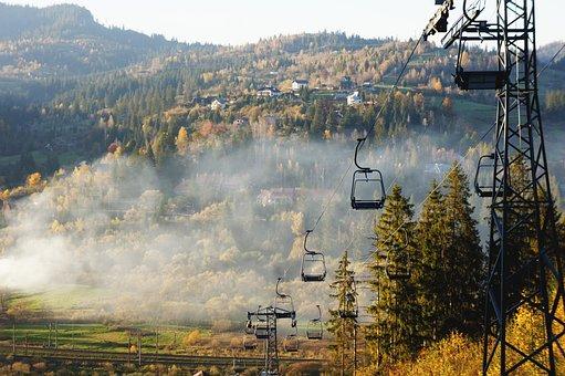 Mountains, Clouds, Sky, Landscape, Nature, Alpine