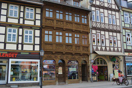 Resin, Truss, Wernigerode, Old, Tourism, Historically
