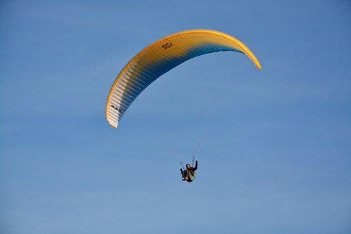 Paragliding, Paraglider, Sailing, Wing Ozone Rush5