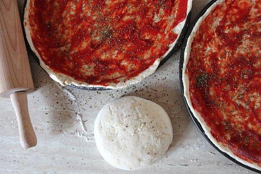 Pizza, Dough Pizza, Italian Pizza, Italian Flavour