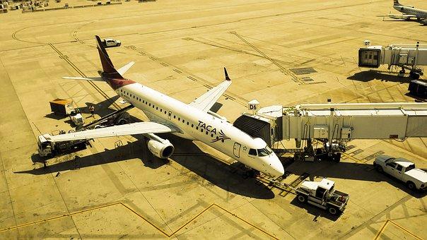 Plane, Airport, Travel, Fly, Ala, Motor, Reactor