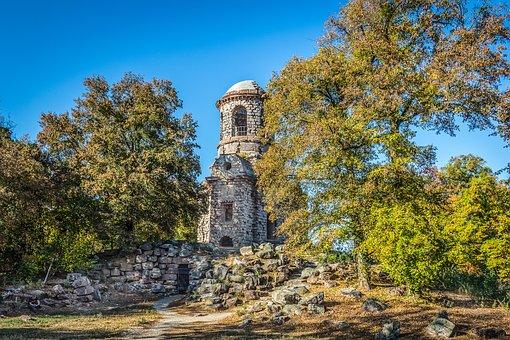 Schwetzingen, Mercury Temple, Schlossgarten, Mercury