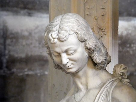 St Denis, Basilica, Tomb, St-jean, Statue, Marble