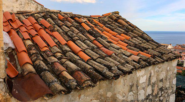 Dubrovnik, Ancient, Roof, Tile, Brick