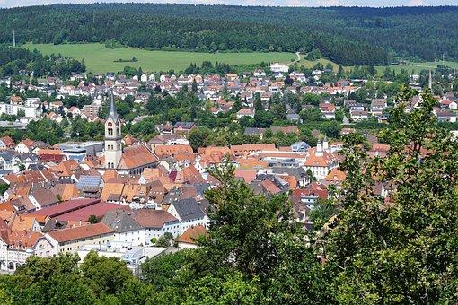 Castle, Tuttlingen, Honing Mountain, Honing Castle