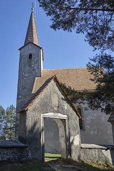 Church, Way Of The Cross, Kláštor Pod Znievom, The Sky