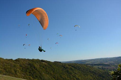 Panoramic Views, Paragliding, Paragliders, Aircraft