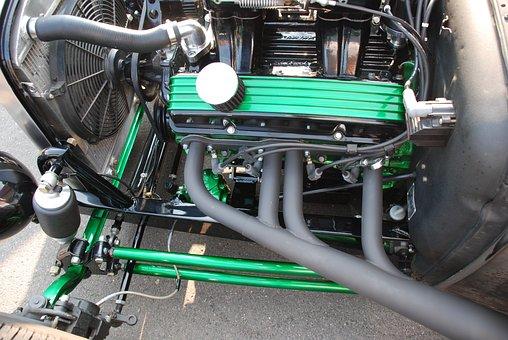 Motor, Cal, Old, Antique, Vintage, Nostalgia, Link