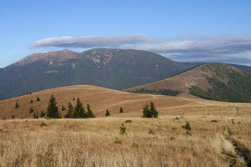 Low Tatras, Mangy, Donovaly, Mountains, Autumn, Hills