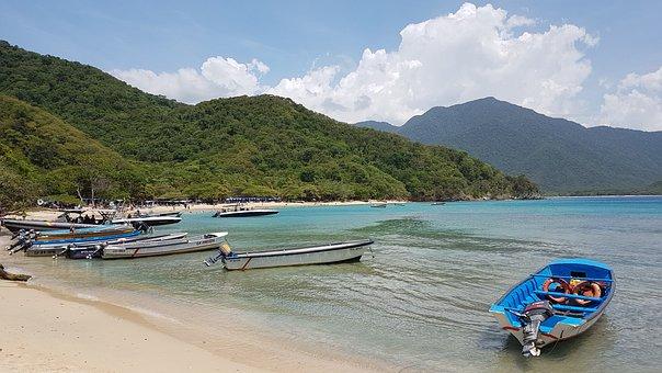 Tayrona Park, Landscapes, Beach, Colombia, Santa Marta