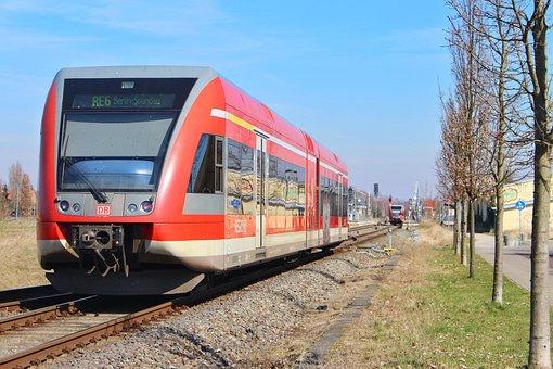 Deutsche Bahn, Br646, Neuruppin, Dbag, Regional Train