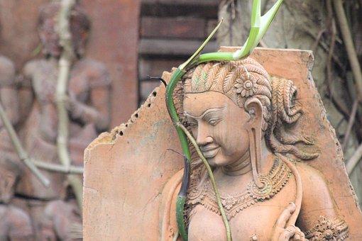 Zen, Rest, Statue, Buddhism, Relaxation, Calm, Serenity