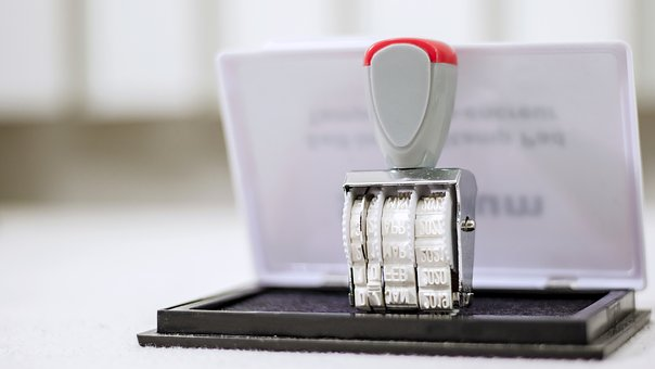 Stamp, Office, Business, Paper, Schedule, Prepare