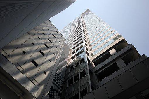 Skyscraper, City, Metropolis, Palazzo, Tokyo