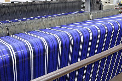 Textile, Weaving, Bench, Factory, Machine, Yarn, Cotton