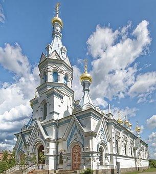 Latvia, Daugavpils, Boris And Gleb Cathedral, Cathedral