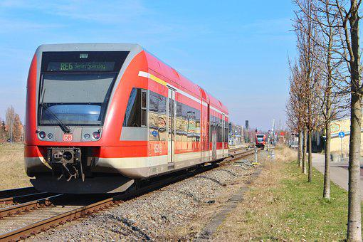 Deutsche Bahn, Br646, Neuruppin, Dbag, Regional Train