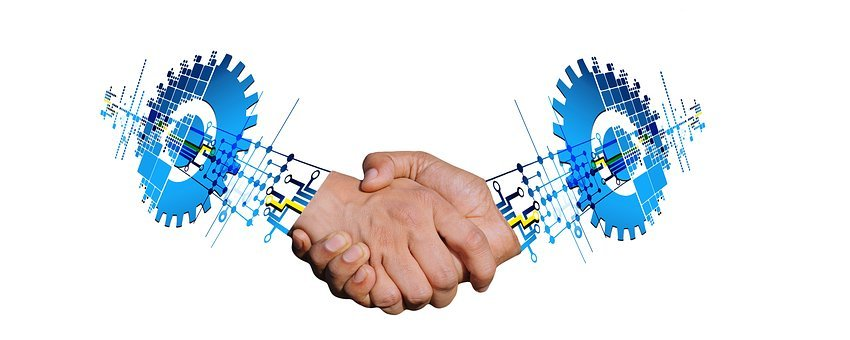 Transformation, Handshake, Digitization, Digital