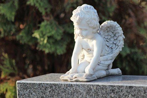 Angel, Wings, Spiritual, Reading, Book, Figure