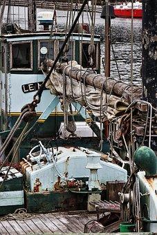 Ship, Cutter, Fishing Boat, Old, Fishing Vessel
