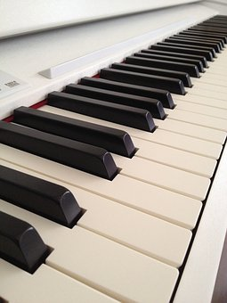 Piano, Keyboard, White, Music, Piano White