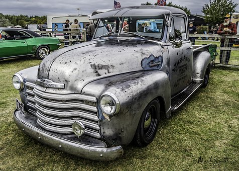 Pick Up, American Pickup, Classic, Transport