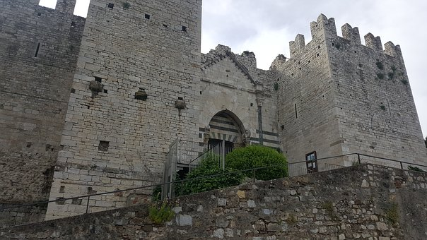 Prato, The Castle Of The Emperor, Tuscany, Middle Ages