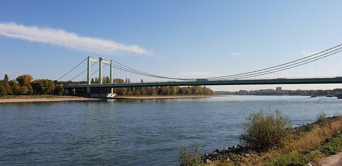 Köln, Cologne, Brücke, Rodenkirchen, Bridge