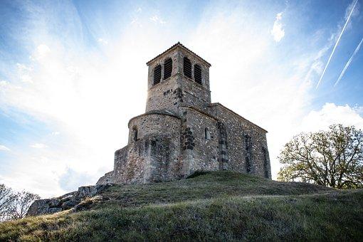 Chapel, Saint-vincent, Saint Laurent D Agny, Skies